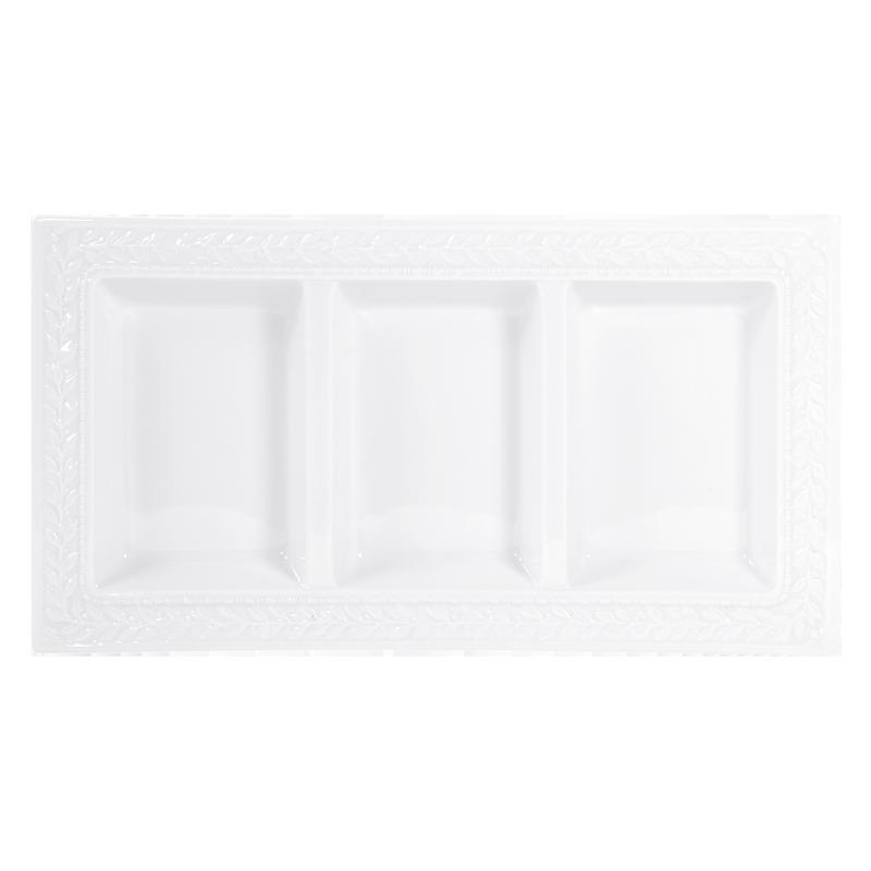 Three-Compartment Tray