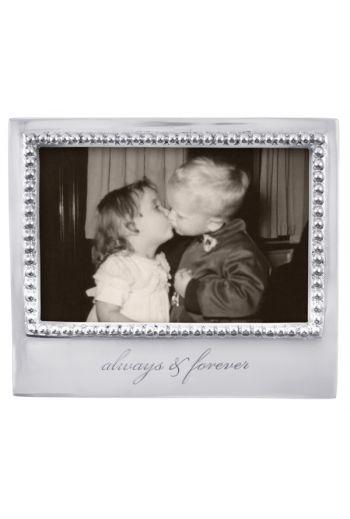 Mariposa ALWAYS & FOREVER BEADED 4X6 FRAME
