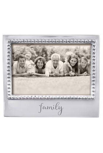 Mariposa FAMILY BEADED 4X6 FRAME