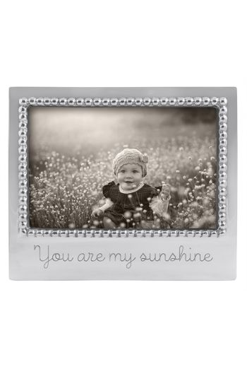 Mariposa YOU ARE MY SUNSHINE BEADED 4X6 FRAME