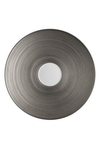 J.L. Coquet Hemisphere - Platinum Tea Saucer