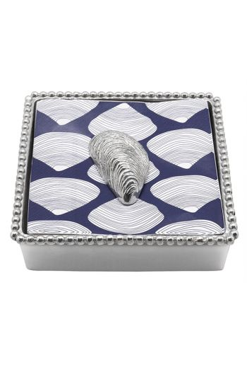 Mariposa MUSSE LCOCKTAIL NAPKIN BOX NEW NAPKIN