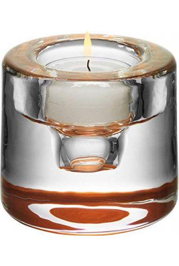 Orrefors Shine Votive (copper)