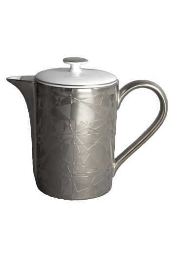 J.L. Coquet Diamond - Platinum Incrustation Tea/Coffee Pot