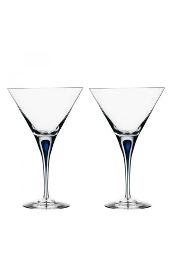 Intermezzo Blue Martini Pair