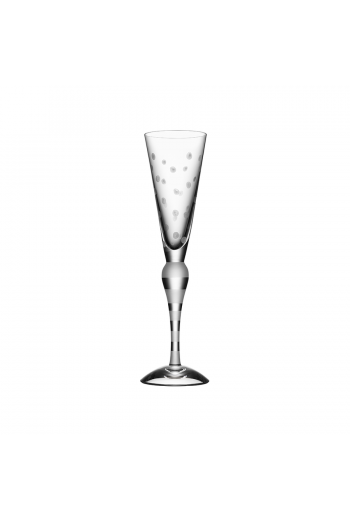 Orrefors Clown Champagne (frost, dots)