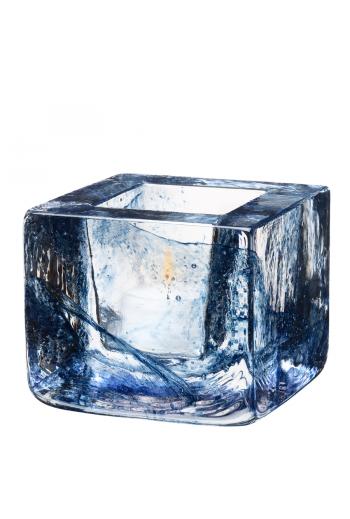 Brick Votive (blue)