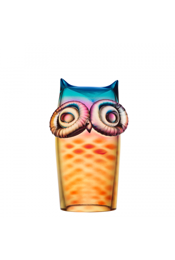 My Wide Life Owl (yellow/red)