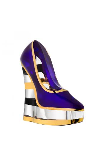 Make Up  Shoe (stripe, amethyst)