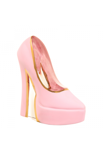 Make Up  Shoe (stiletto, pearl pink)