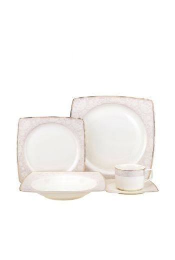 Joseph Sedgh Amy 20 Piece Bone China Dinnerware Set - Service for 4