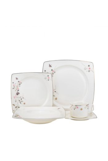 Joseph Sedgh April 20 Piece Bone China Dinnerware Set - Service for 4