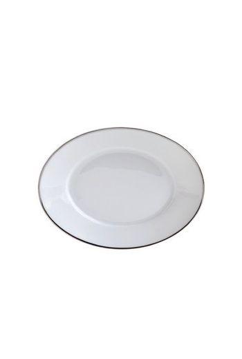 "Bernardaud Argent Relish Dish -  9"" x 5"""
