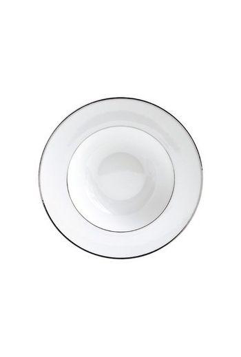 "Bernardaud Argent Rim Soup - 9"""