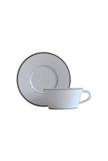 Bernardaud Argent Tea Cup and Saucer