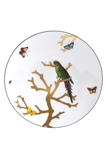 "Bernardaud Aux Oiseaux Dinner Plate - 10.5"""