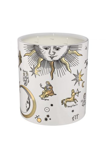 Fornasetti  Astronomici Bianco Candle, Otto - 1.9kg