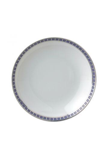 """Bernardaud Athena Navy Fruit Saucer - Measures 5"""" diameter"""