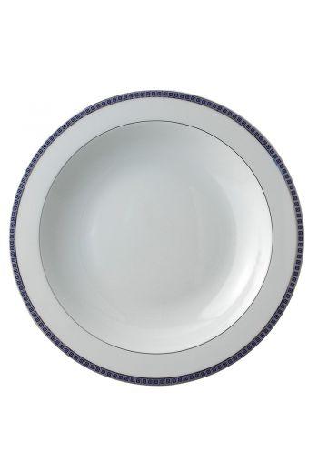 "Bernardaud Athena Navy Deep Round Dish - 11.5"""