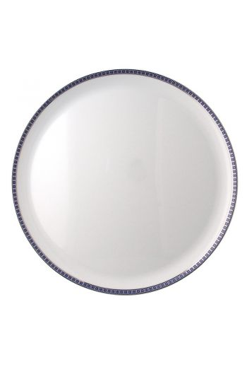"Bernardaud Athena Navy Tart Round Platter -  Measures 13"" diameter"