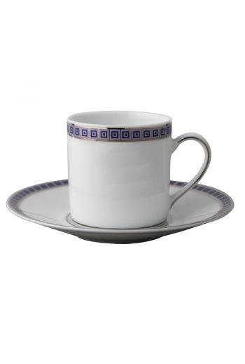 Bernardaud Athena Navy Espresso Saucer