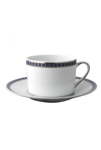 Bernardaud Athena Navy Tea Saucer