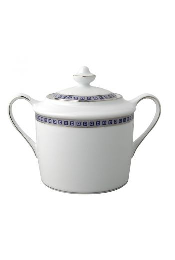 Bernardaud Athena Navy Covered Sugar Bowl - 6 cups, 6.8 oz