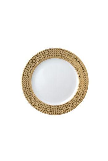 """Bernardaud Athena Or Accent Salad Plate- 8.5"""""""