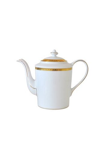Bernardaud Athena Or Coffee Pot - 12 cups, 34 oz