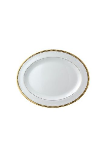 Bernardaud Athena Or Oval Platter - 13""