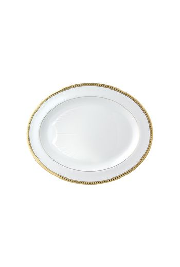 Bernardaud Athena Or Oval Platter - 17""