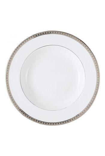 "Bernardaud Athena Platinum Rim Soup Bowl - 9"""