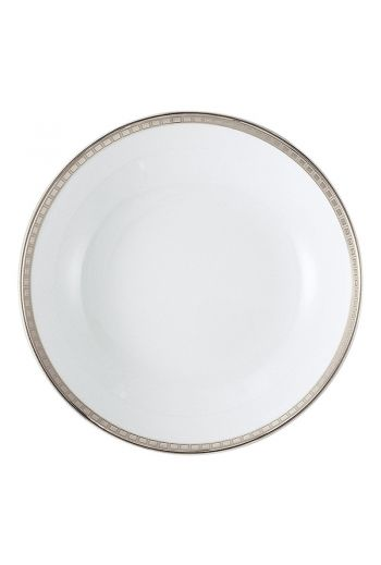 "Bernardaud Athena Platinum Soup Plate - 7.5"""