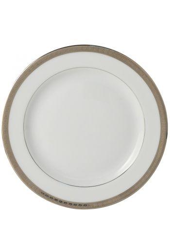 "Bernardaud Athena Platinum Dessert Plate - 7.5"""