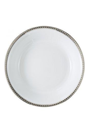 "Bernardaud Athena Platinum Open Vegetable Bowl - 9.5"""