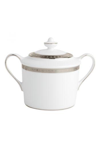 Bernardaud Athena Platinum Sugar Bowl - 6 cup