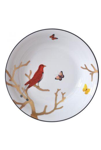 """Bernardaud Aux Oiseaux Open Vegetable Bowl - 9.6""""   27 oz"""