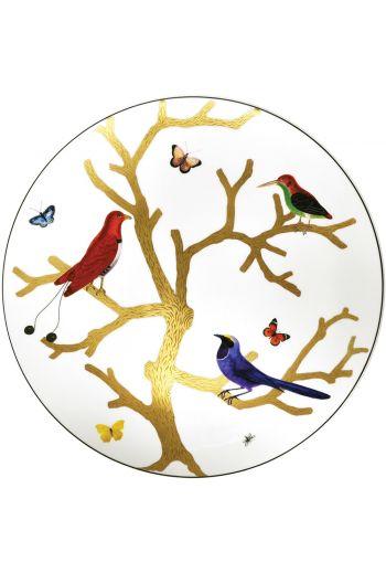 "Bernardaud Aux Oiseaux Ultra Flat Plate - 12.2"""
