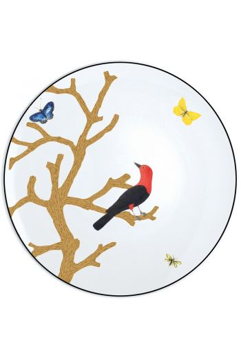 Bernardaud Aux Oiseaux Bread and Butter Plate - 6.5""