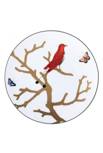 """Bernardaud Aux Oiseaux Salad Plate - 8.5"""""""