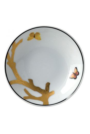 "Bernardaud Aux Oiseaux Small Dish - 4"""