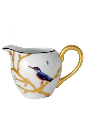 Bernardaud Aux Oiseaux  Creamer - 12 cups, 10 oz
