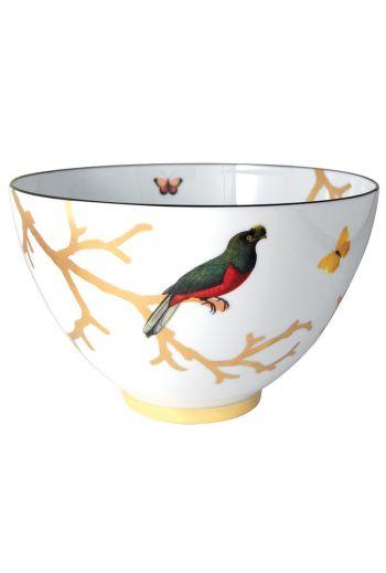 """Bernardaud Aux Oiseaux Salad Bowl - 10"""""""
