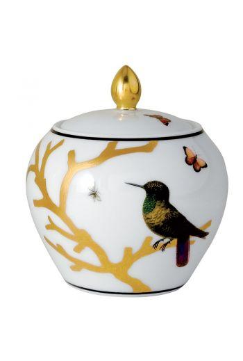 Bernardaud Aux Oiseaux  Sugar Bowl - Holds 11.8 oz