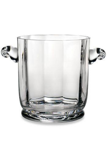 Reed & Barton Heritage Austin Crystal Ice Bucket