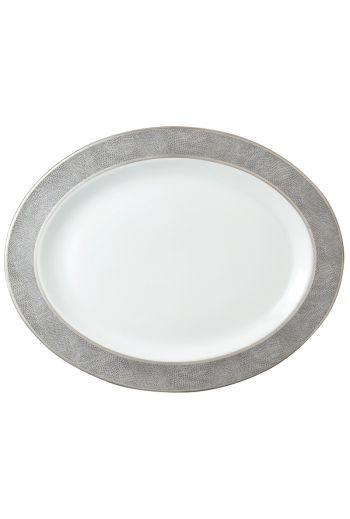 "SAUVAGE Oval platter 15"""