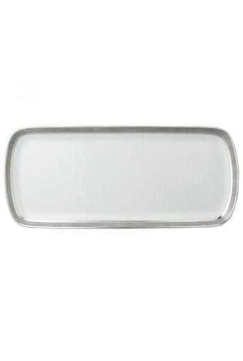 "SAUVAGE Cake platter rectangular 15"""