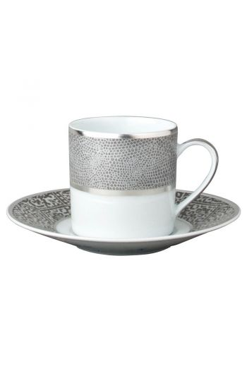 SAUVAGE Espresso cup and saucer 2.7 oz