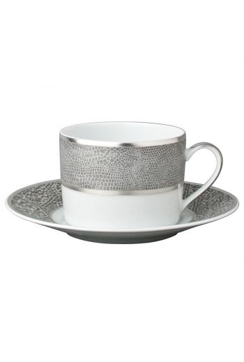 SAUVAGE Tea cup and saucer 5 oz