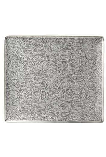"SAUVAGE Rectangular tray 8.7"" X 7.7"""